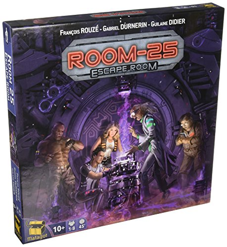 Surfin' Meeple Room 25 Escape Room Board Game