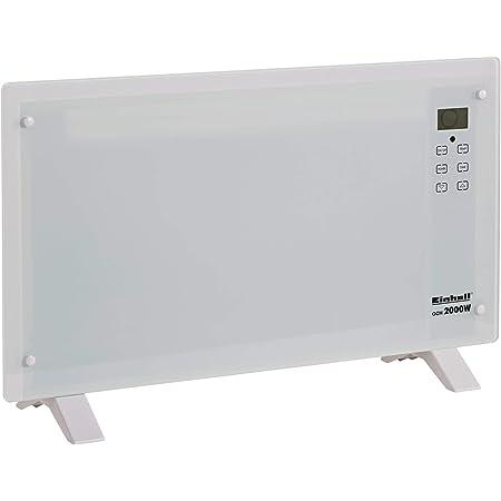 24-h-Timer IP24: Spritzwassergesch/ützt LED-Display Klarstein Bornholm Smart Konvektions-Heizger/ät 2 Heizstufen: 1000//2000 W Fernbedienung wei/ß SmartHeat Design: WiFi-Verbindung 2000 W
