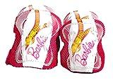 Dino Bikes Juego de Protectores para Codos y Rodillas, diseño de Barbie, Color Rosa (PROBA Pads)