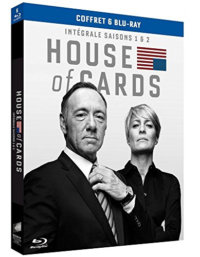 House of Cards - Intégrale saisons 1 et 2 [Francia] [Blu-ray]