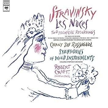 Stravinsky: Symphony of Wind Instruments, Les Noces & Chant du Rossignol