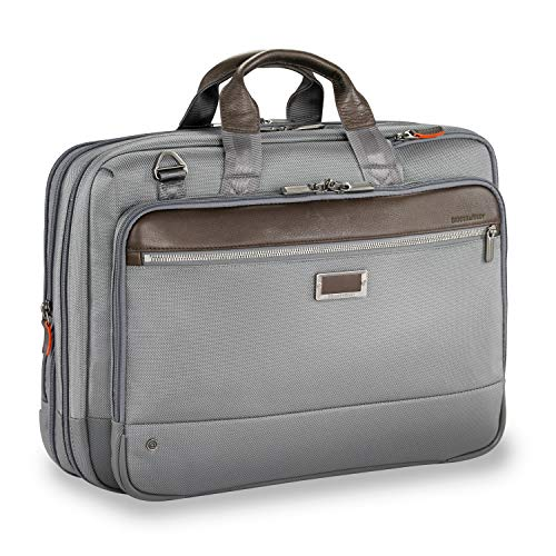 Briggs & Riley @ Work-Brief, Gray, Large Expandable