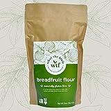 What The Fruit - Breadfruit Flour - Gluten Free Flour For Baking - Makes Gluten Free Waffles - Paleo Flour - Vegan Flour - Low Glycemic Foods - Paleo Pancake - Gluten Free Baking Flour - 16oz