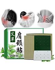 AIJIANG 20 unidades por caja almohadilla para cuello de ajenjo para aliviar el dolor