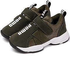 Daclay Kinderschoenen Jongens Meisjes Lichtgewicht Mesh Bovenwerk Comfortabele Velcro-sneakers
