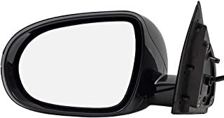 BROCK Side View Mirror for 2016-2018 Kia Sorento Driver Replacement Heated Signal fits 87610C6080 87610 C6080