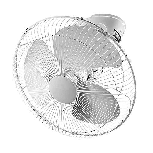 YINUO Fans Haushalts-Deckenventilator Elektrischer Ventilator Ultra-leiser Industrieventilator 360 Grad; Rotierender energiesparender Lüfter für Zuhause, Büro, Werkstatt, Garage 16 Zoll
