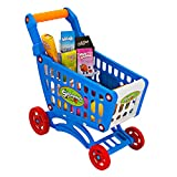 Toy Shopping Cart Grocery Cart for Babies  Shopping Cart Miniature Supermarket Trolley for Babies Ages 6-9 Months with Pretend Play Food Accessories  Easy to Assemble