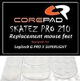 Corepad Skatez Pro 210 Pieds de Souris de Remplacement Compatible avec Logitech G Pro X Superlight