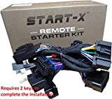 Start-X Remote Starter Kit for Ford F-150 11-14 || F-250 11-16 || F-350 11-16 || F-450 11-16 || F-550 11-16 || Focus 12-15 || Edge 11-14 || Expedition 15–17 || Explorer