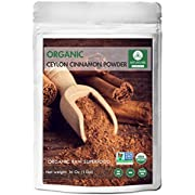 Naturevibe Botanicals Premium Quality Organic Ceylon Cinnamon Powder (2lb), Ground | Raw, Gluten-Free & Non-GMO | 2 Pack of 1 lb each