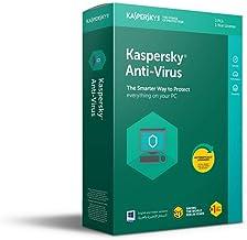 KASPERSKY ANTI VIRUS 2018  THREE PLUS ONE USER