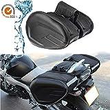 AITOCO Motorrad Satteltaschen Motorrad Koffer wasserdichte Reisegepäck Taschen Erweiterbar...