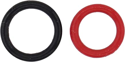 NewYall Pack of 2 Power Steering Pump Rubber Inlet & Outlet O-Ring Seal Set