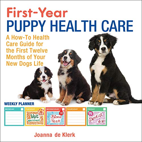 First-Year Puppy Health Care cover art