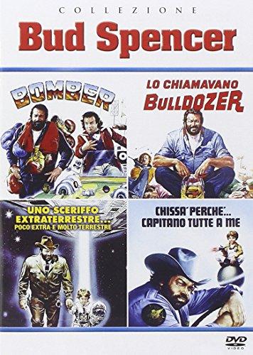 Collezione  Bud Spencer - Bomber/ Lo Chiamavano Bulldozer /Chissà Perché Capitano Tutte a Me / Uno Sceriffo Extraterrestre… Poco Extra e Molto Terrest
