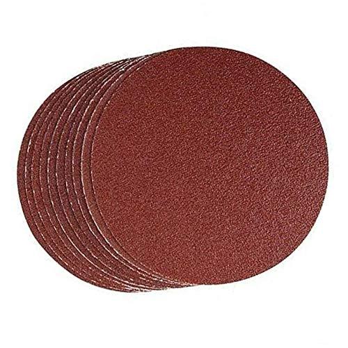 Amazing Deal Xucus 40pcs Set Abrasive Pads Sanding Disc Woodwork Tool Grit Sandpaper Woods Plastic