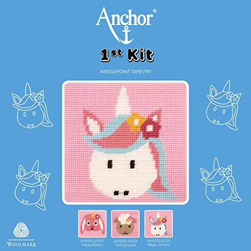 Anchor Kits and Canvas Tapisserie Magic Unicorn