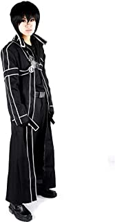 Men's Kirito Black Cosplay Costume