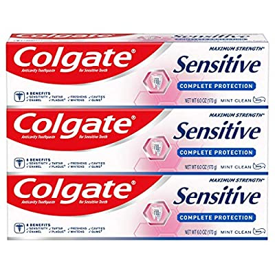 Colgate Sensitive Toothpaste Complete