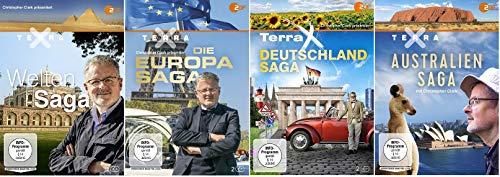 Terra X - Welten-Saga + Die Europa-Saga + Deutschland Saga + Australien Saga [DVD Box Set]