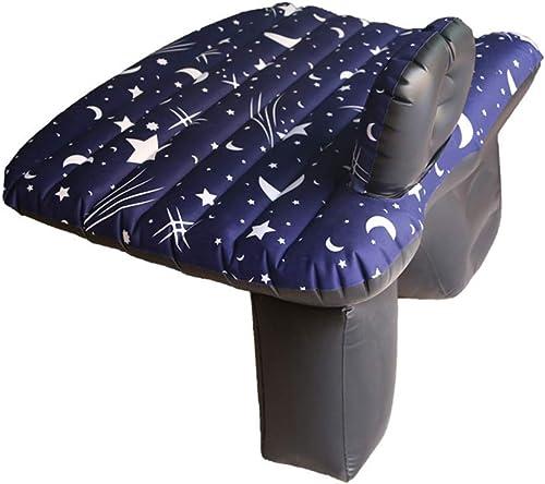 Giow Lit Gonflable pour Voiture Coussin Gonflable Pliant pour Voiture Universel Antichoc Airbag Gonflable pour lit de Voyage Gonflable (Couleur  A)