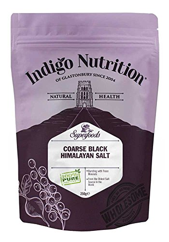 Indigo Herbs Sal Negra del Himalaya 250g (grano grueso)
