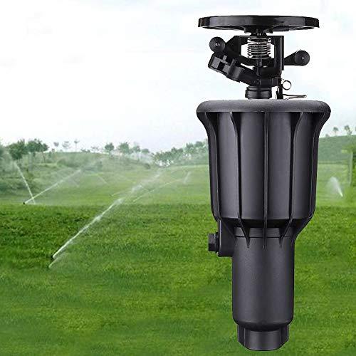 Irrigatore Sistema di irrigazione a 360 gradi Durevole Fly Out Gocciolatore Irrigazione a prato Giardino duraturo Doppia interfaccia Esterno sotto la superficie Ugello rotante Impianto Acqua Spray