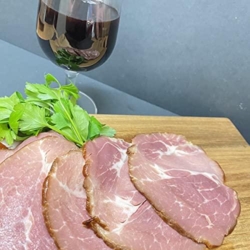 お肉屋さんの イタリア産 ホエー豚 のスモークロースト スライスパック 300g 冷凍