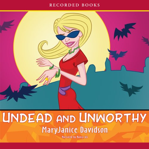 Undead and Unworthy, Queen Betsy, Book 7 audiobook cover art