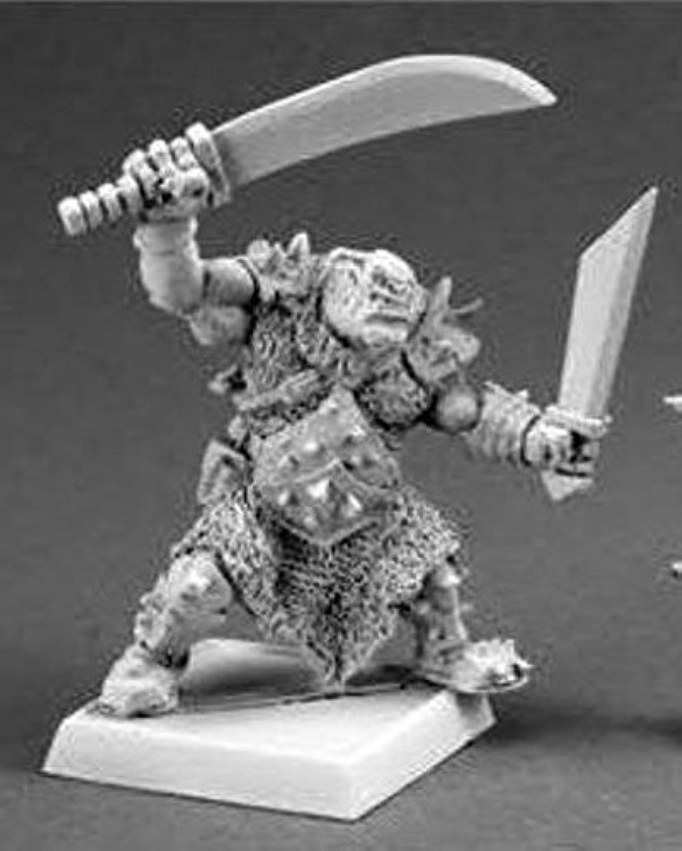 schwarz Orc Tundra Stalker Reaper Warlord Miniature by Reaper