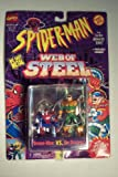 Web of Steel Spiderman The New Animated Series Spider-Man VS Dr. Octopus Die Cast Metal Figure
