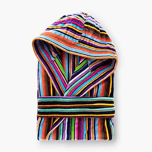accappatoio donna riviera Riviera Accappatoio Stripes Multicolore M
