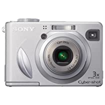 Sony Cybershot dscw55.1MPデジタルカメラwith 3x光学ズーム(Oldモデル)