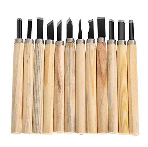 12 pièces Les bricoleurs Outils les outils sculpture bois couteau multi-lames
