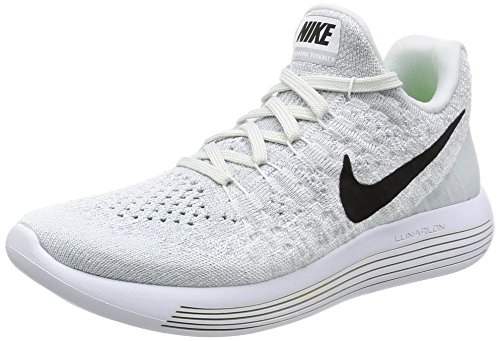 Nike Herren Lunarepic Low Flyknit 2 Laufschuhe, Weiß - weiß - Größe: 41 EU