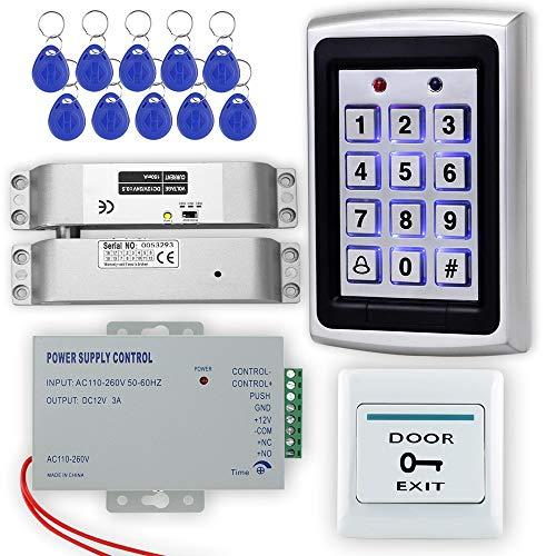 LIBO Kit de Sistema de Control de Acceso RFID Controlador de Acceso...