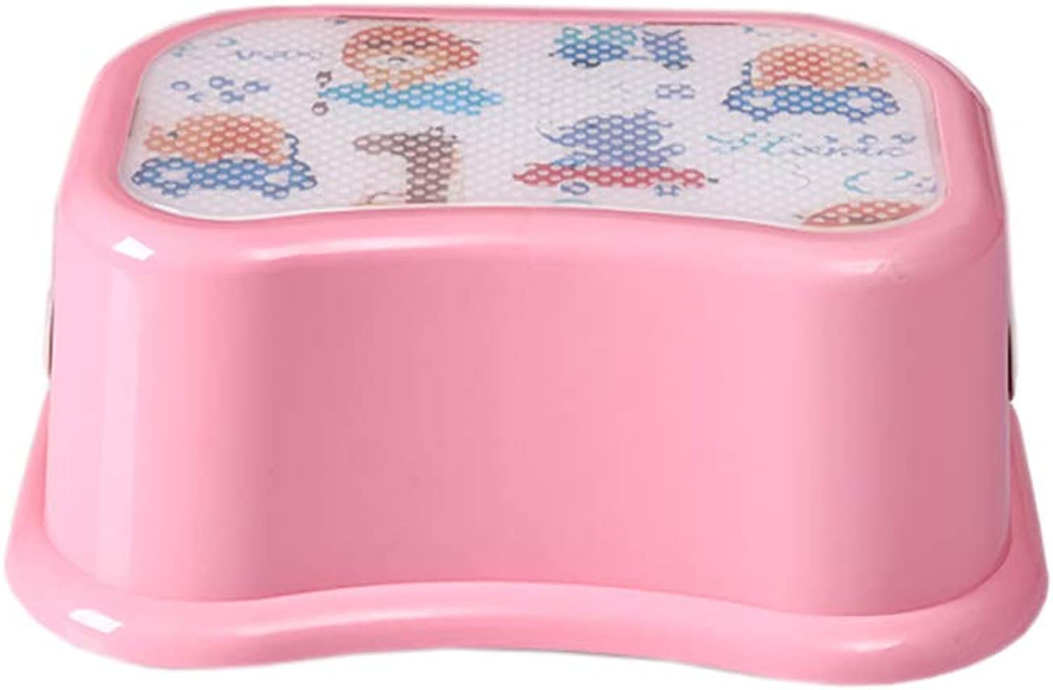 Kids Best Friend Kids Pink Step Stool, Great for Potty Training and Toy Room Gift