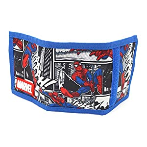 Marvel Avengers Spider Man Super Comics Trifold Light Wallet for Boys Children Kids