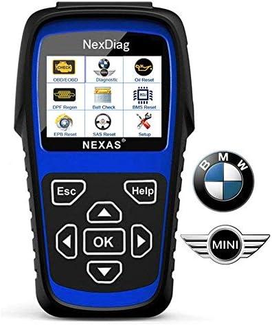Diagnostic Scanner Tool Automotive Scanner for BMW Mini ND601 OBD2 Scanner Multi System Fault product image