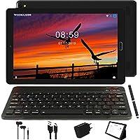 Tablet 10 Pulgadas GOODTEL 4G Android 8.0 Negro Tablets PC con 3GB RAM + 32GB ROM y 8000mAh Batería & 5.0 MP + 8.0 MP HD la Cámara , Dobles SIM y TF Card Apoyo Tablet (WI-FI,GPS Bluetooth,FM Radio)