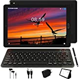 GOODTEL Tablet 10 Pollici Tablet Android 8.1 4G con 3 slot (Dual SIM + SD) Processore Quad Core, 1.5GHz 3G + 32GB Doppia Fotocamera WiFi Bluetooth GPS