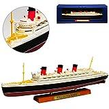 Atlas RMS Queen Mary Luxusdamper Schiff Kreuzfahrt 1/1250 Schiff Modell -