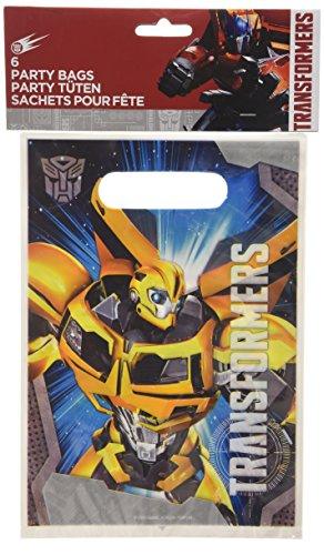 amscan - 997766 - 6 Sacs de Fête Transformers