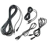 Joy MacPherso 5.5x2.1mm CCTV Frau zu Mann DC Power-Verlängerungskabel Kabeladapter Licht-Streifen (Größe : 10M)