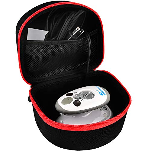 PAIYULE Case Compatible with Steamfast SF-717/ Smagreho Mini Steam Iron, Carrying Travel Storage Bag Fits for Measuring Cupand More Accessories