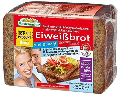 Pan de proteína cetogénica baja en carbohidratos Pan de proteína cetogénica low carb solo 7,5 g de carbohidratos por 100 g de pan (pan de proteína omega 3)