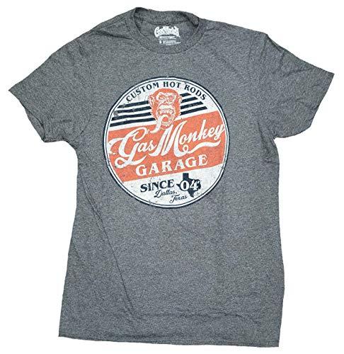 Gas Monkey Garage Can Gray Graphic T-Shirt - 2XL