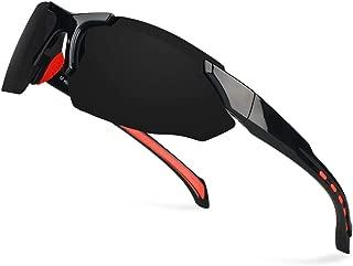 Polarized Sport Sunglasses Men Women Superlight FDA Approved Glasses with Zipper case— HP5005