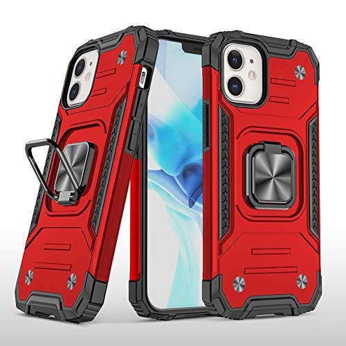 Swdan für LG K40S Hülle,180 Grad Ring Halter Handy Hüllen Cover Magnetische Bumper Schutzhülle für Hülle LG K40S Handyhülle